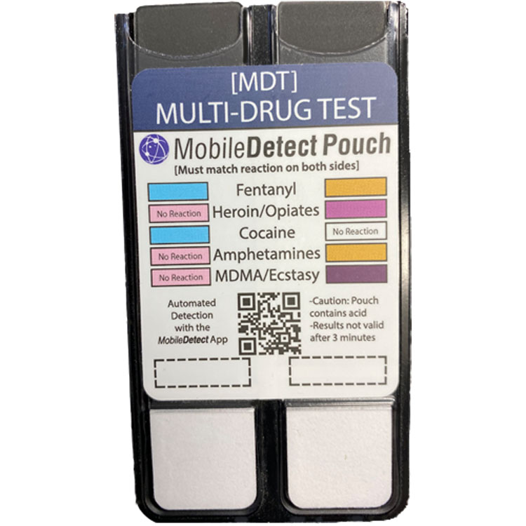 Multi-Drug Surface Residue (Pouch) Drug Test - Includes Fentanyl & Carfentanyl by Medimpex