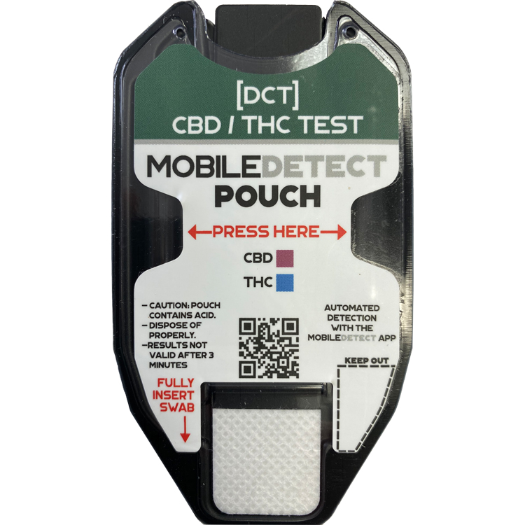 CBD / THC Surface Residue/Vape Oil (Pouch) Drug Test by Medimpex