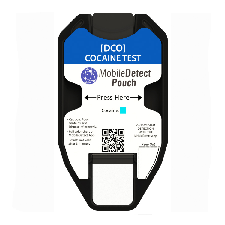 COC Surface Residue (Pouch) Drug Test by Medimpex