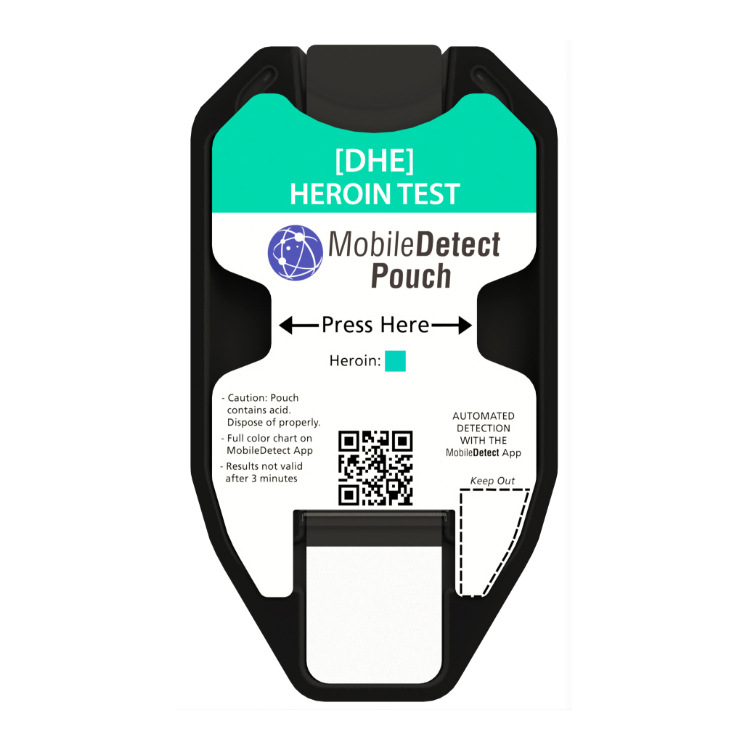 Heroin Surface Residue (Pouch) Drug Test by Medimpex