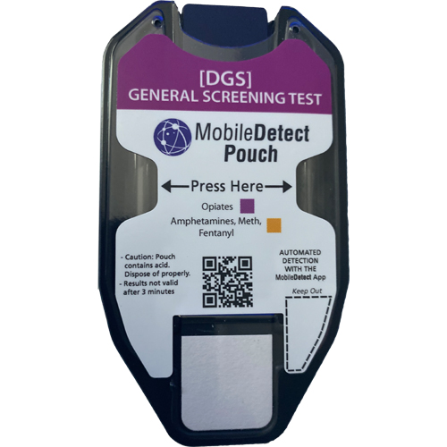 General Screening Surface Residue (Pouch) Drug Test (AMP, FEN, METH, OPI)) by Medimpex