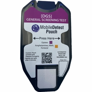 General Screening Surface Residue (Pouch) Drug Test (AMP, FEN, METH, OPI))