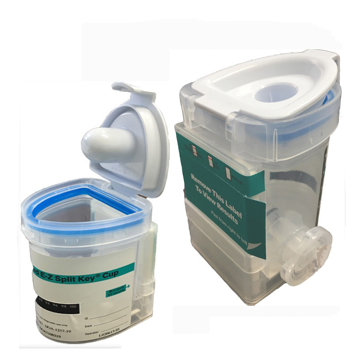 Integrated EZ-Split 12 Drug Cup w/BUP Box of 25 Tests by Acon