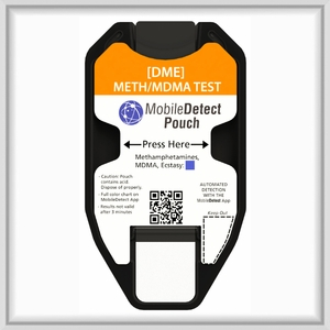 mAMP/MDMA Surface Residue (Pouch) Drug Test
