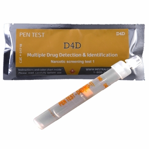 Multi Drug Surface Residue Ampoule Pen Test - MD1 (8 Drugs)