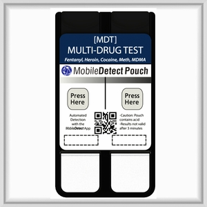 Multi-Drug Surface Residue (Pouch) Drug Test - Includes Fentanyl & Carfentanyl