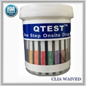 11 Panel Cup  QTEST�  CLIA Waived