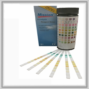 Urinalysis Reagent Strips 10 Panel (100 Tests)  MISSION BRAND