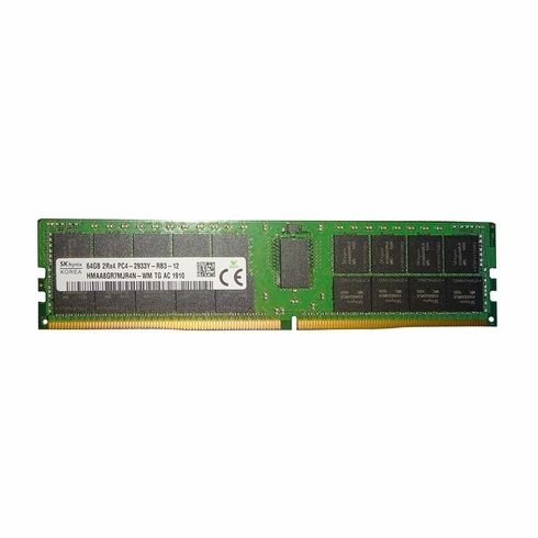 64GB 2933MHz DDR4 PC4-23400 Reg ECC CL21 288-Pin Quad Rank x4 DIMM (P/N 3D-P42933RD4Q421D-64G)