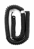 12 Ft. Black Handset Cord (5/pk.)