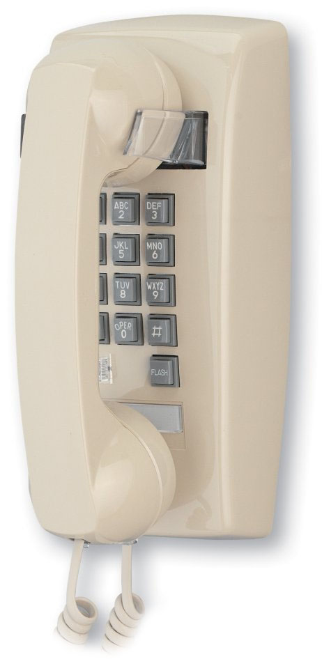 2554 Basic Wall Mount Phone With Flash Amp Message Waiting