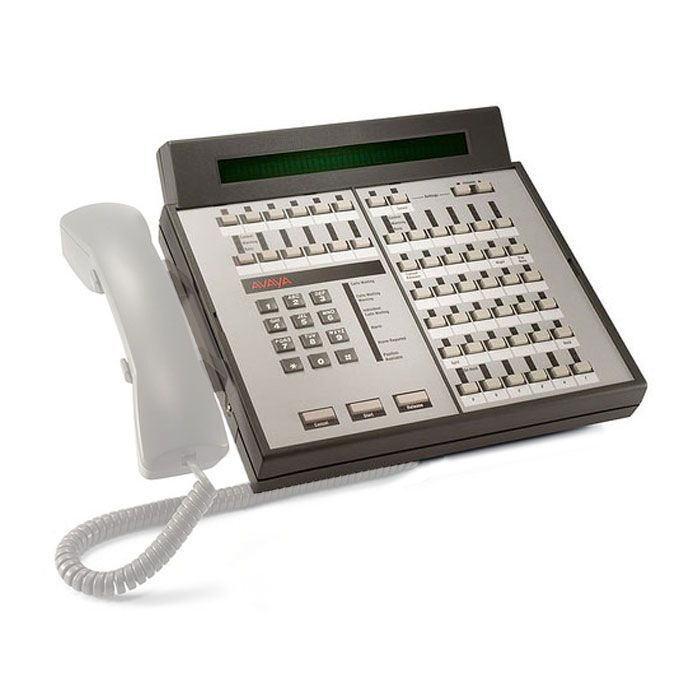 Avaya Callmaster and 302 Console Handset and Cradle Kit - Gray