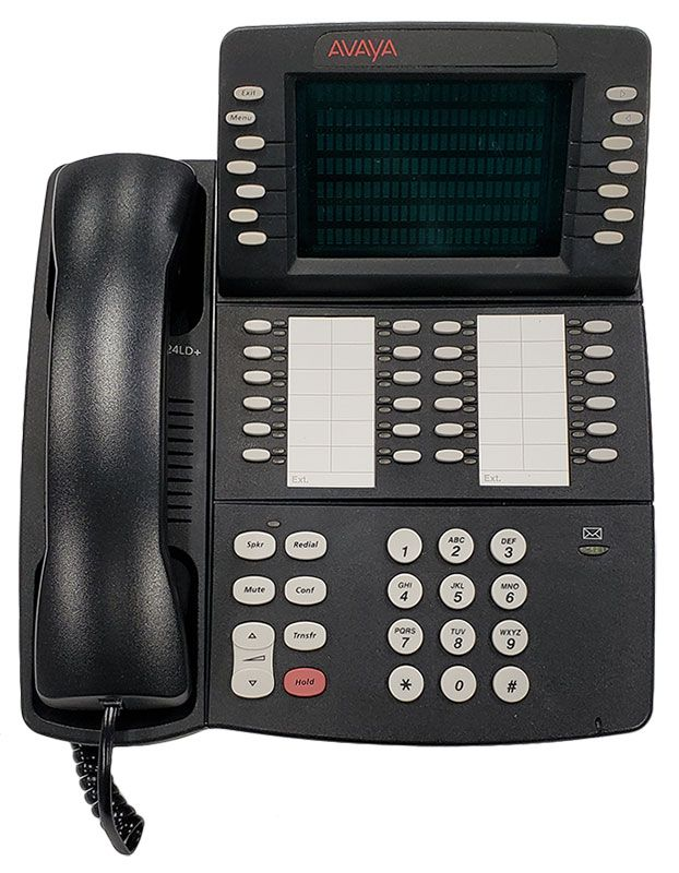 Avaya 4424LD+ 24-Button Digital Telephone - Black (108429580)