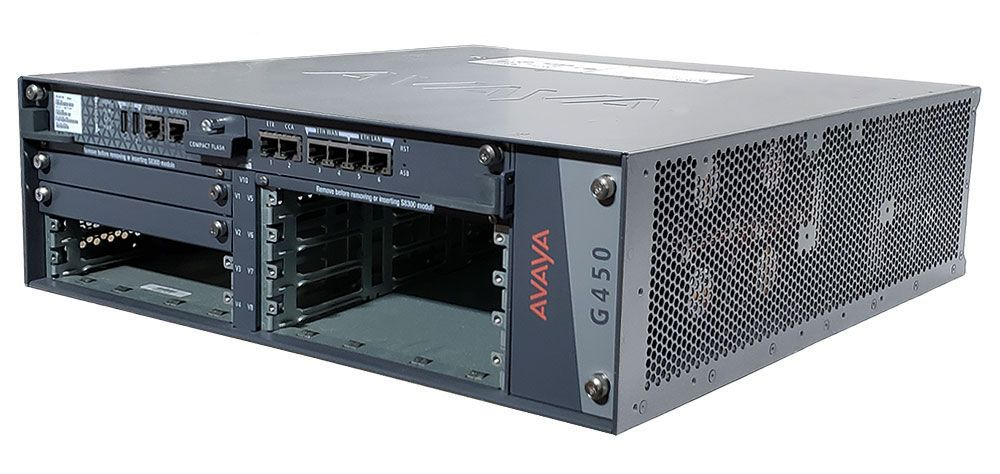 Avaya G450 MP80 Media Gateway w/Power (700407802, 700459456)