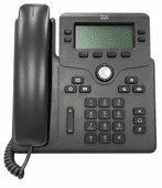 Cisco 6851 IP Phone with Multiplatform Firmware and Power (CP-6851-3PW-NA-K9=)