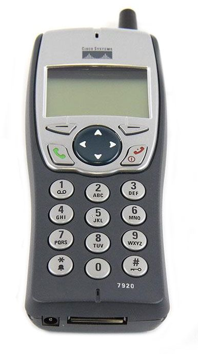 Cisco 7920 Unified Wireless IP Phone (CP-7920-FC-K9=)