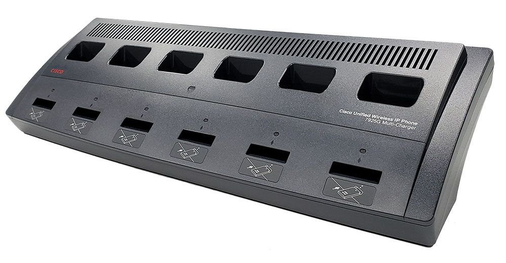 Cisco 7925G, 7925G-EX, 7926G Multi Charger Spare (CP-MCHGR-7925G=)