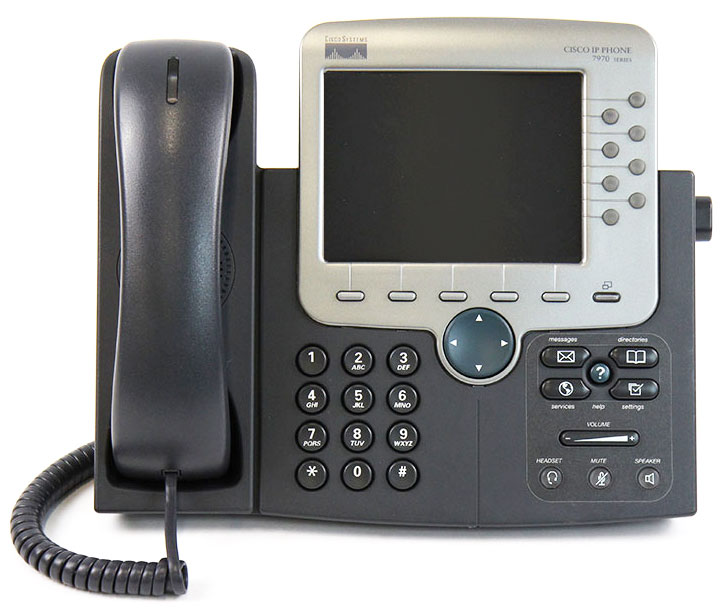 Cisco Ip Phone 7970 manual