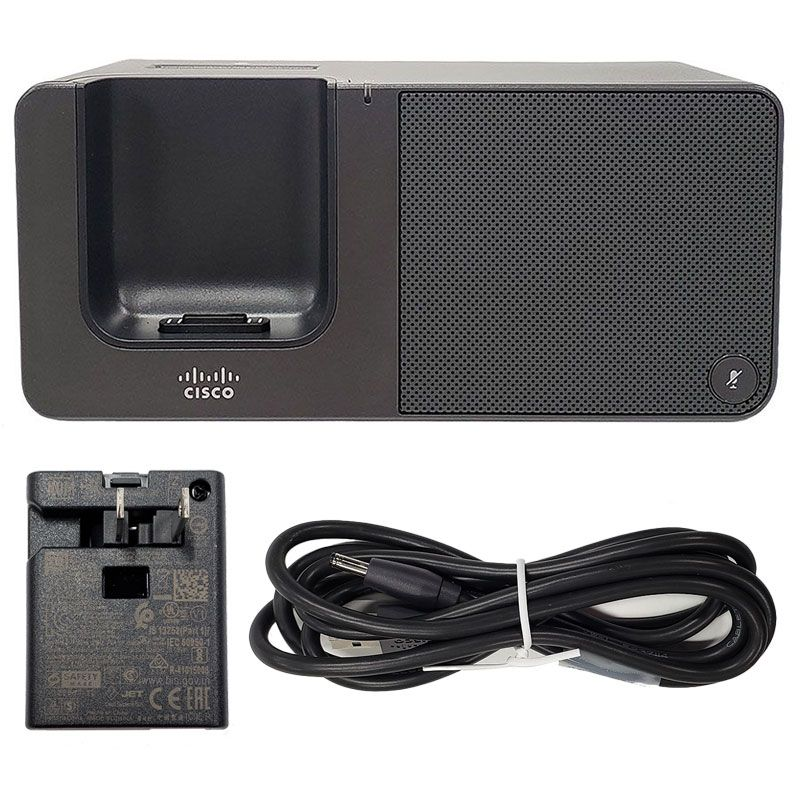 Cisco 8821 Wireless IP Phone w/Battery and Desktop Charger Bundle