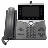 Cisco 8865 IP Phone with Multiplatform Firmware and Power Cube 4 (CP-8865-3PW-NA-K9=)