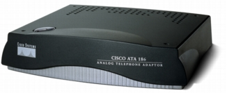 Cisco ATA 188 Analog Telephone Adapter (ATA188-I1-A)