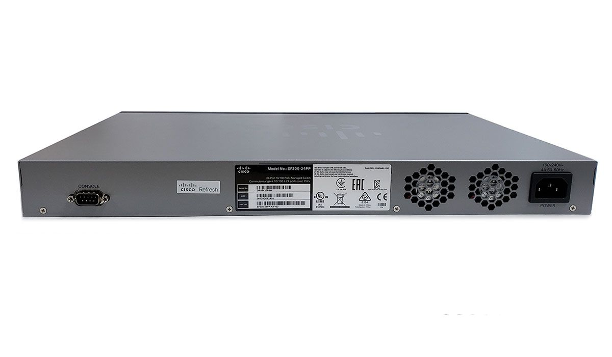 Cisco SF300-24PP 24-Port PoE+ Managed Switch (SF300-24PP-K9-NA)