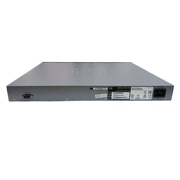 Cisco SF300-48PP 48-Port PoE+ Managed Switch (SF300-48PP-K9-NA)
