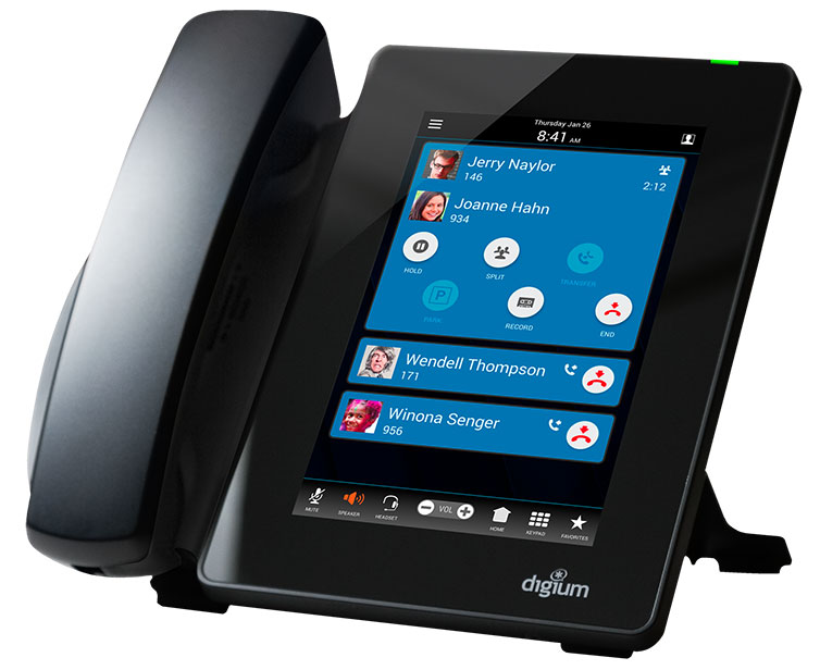 Digium D80 IP Phone (1TELD080LF)