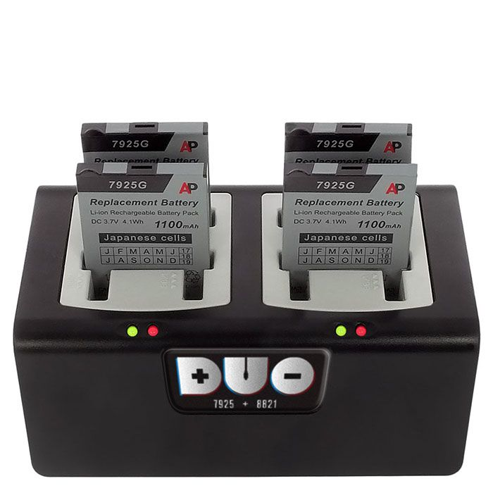 DUO Multi-Battery Charger for Cisco 7925G and 8821 (CH-DUO-CIS)
