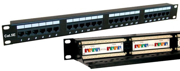 DynaCable 24-Port Category 5E Patch Panel