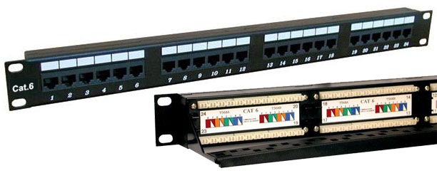 DynaCable 24-Port Category 6 Patch Panel