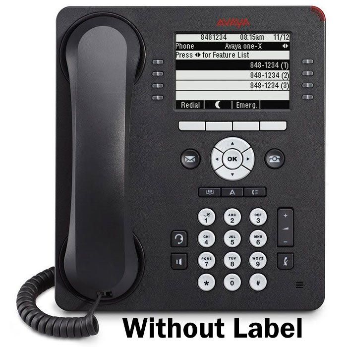 English Text Label for Avaya 9608, 9608G, 9611G, 9408 and 9508 Global Phones