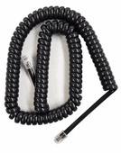 Extended Length Charcoal Gray Handset Cords (HCCH0324) 5 Pack