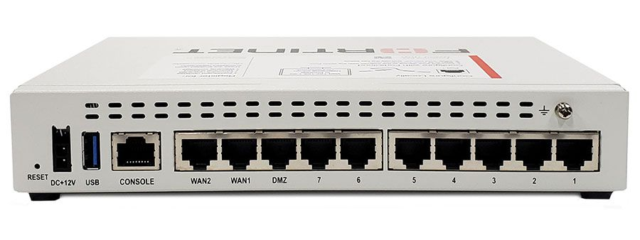 Fortinet FortiGate 60E Secure SD-WAN Appliance (FG-60E, P18816-03-09)