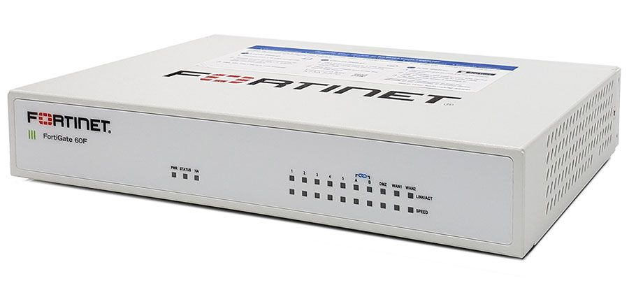 Fortinet FortiGate 60F Secure SD-WAN Appliance (FG-60F, P24286-03-06)