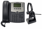 Headset Packages for Cisco SPA300 and SPA500 Series IP Phones