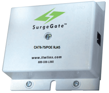 ITW Linx 1Gb CAT6-75-RJ45 Category 6 Solid-State Building Entrance Protector
