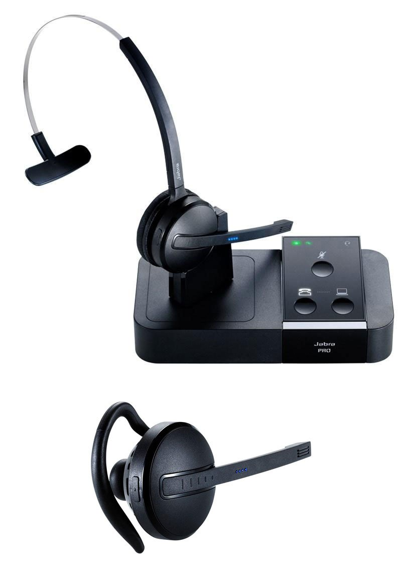 Jabra 9450 Wireless Headset Package for Polycom Telephones