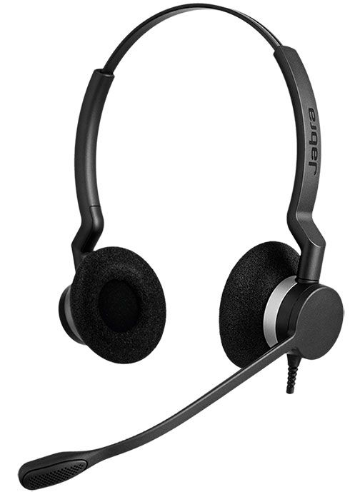 Jabra BIZ 2300 QD Duo Headset Package for Avaya IP Phones
