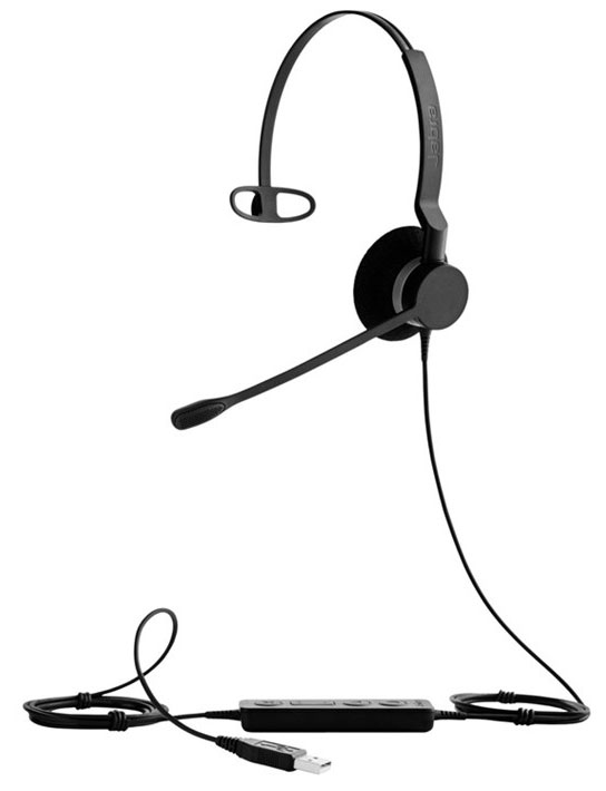 Jabra BIZ 2300 USB MS Mono Headset (2393-823-109)