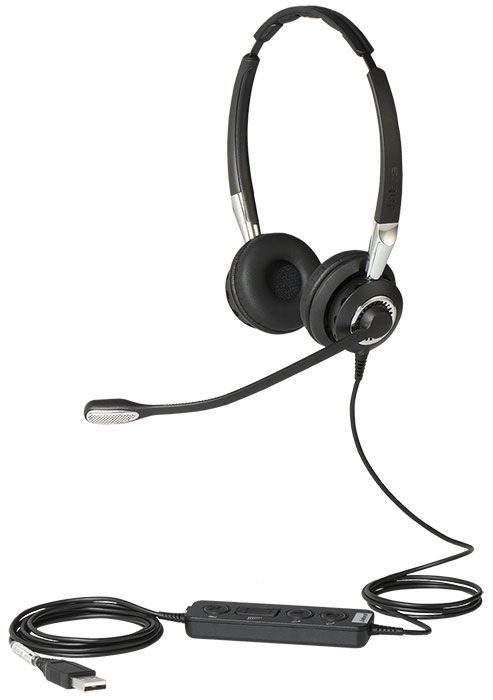 Jabra BIZ 2400 II USB Duo MS Headset (2499-823-309)
