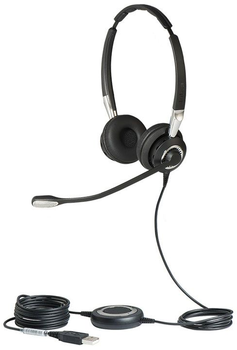 Jabra BIZ 2400 II USB Duo BT UC Headset (2499-829-209)