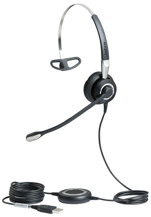 Jabra BIZ 2400 II USB Mono BT 3 in 1 UC Headset (2496-829-209)
