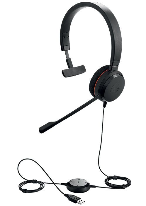 Jabra Evolve 20 MS Mono Headset (4993-823-109)