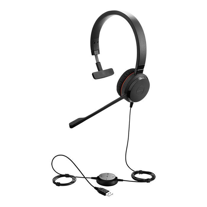 Jabra Evolve 30 MS Mono USB Headset (5393-823-109)