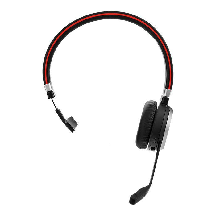 Jabra Evolve 65 MS Mono Wireless Headset w/Charging Stand (6593-823-399)