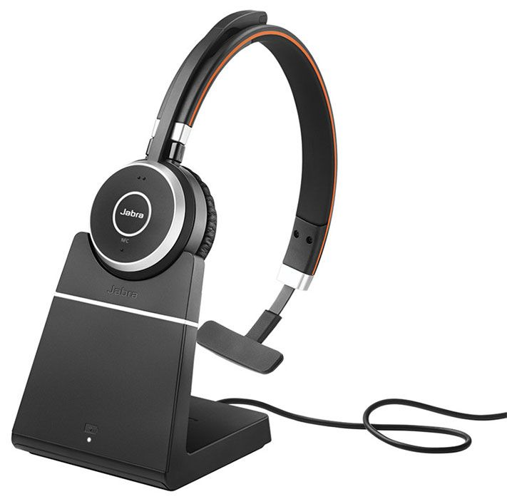 Jabra Evolve 65 Ms Stereo Wireless Headset W Charging Stand 6599 823 399