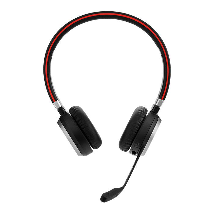 Jabra Evolve 65 MS Stereo Wireless Headset w/Charging Stand (6599-823-399)