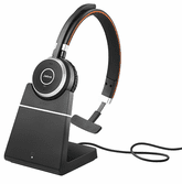 Jabra Evolve 65 UC Stereo w/Charging Stand (6599-823-499)
