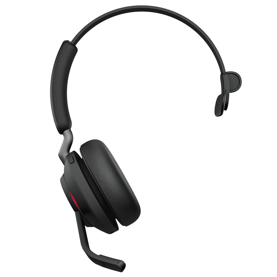 Jabra Evolve2 65 MS Teams Mono Wireless Headset (26599-899-899, USB-C)